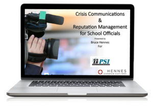PSI Webinar Crisis Communication
